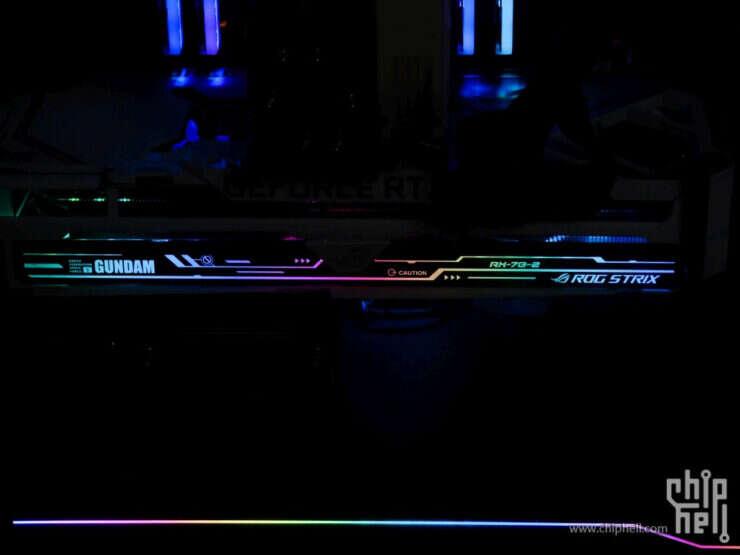 zdjęcia Asus GeForce RTX 3090 ROG Strix Gundam
