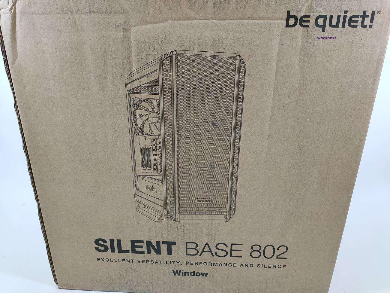 test be quiet! Silent Base 802 Window, recenzja be quiet! Silent Base 802 Window, opinia be quiet! Silent Base 802 Window