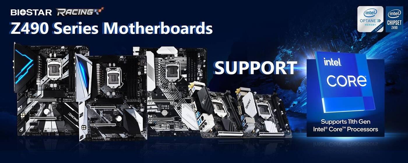 AsRock Biostar, Z490 Intel Core 11. gen, Core 11. gen