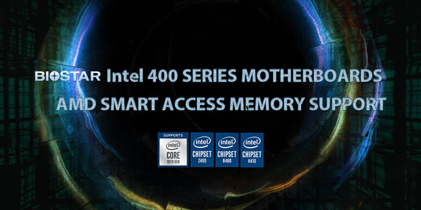 wsparcie technologii AMD na płytach Intela 400, Biostar płyty Intela, Biostar Intel 400, Biostar SAM
