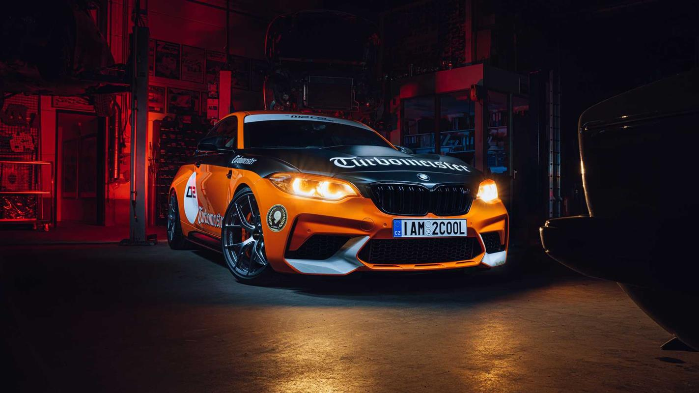 BMW M2 Turbomeister Edition jako nieoficjalne M2 CSL