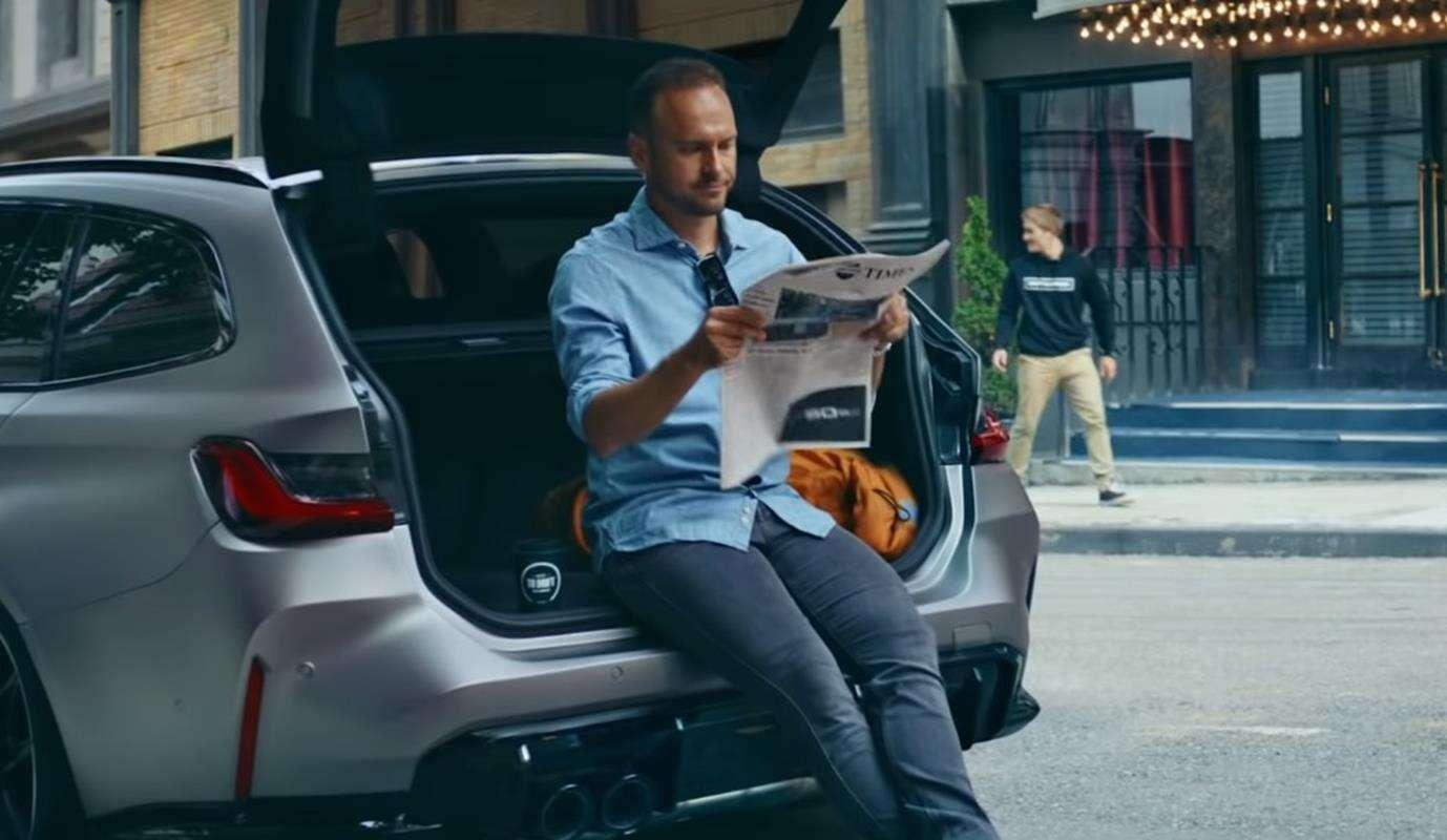 Kombi BMW M3 Touring pokazało się na chwilę w oficjalnym materiale