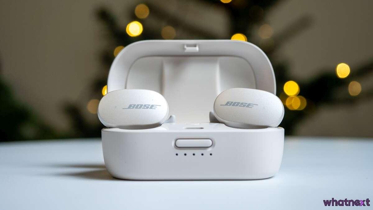 Test Bose QuietComfort Earbuds. Tylko cisza i muzyka