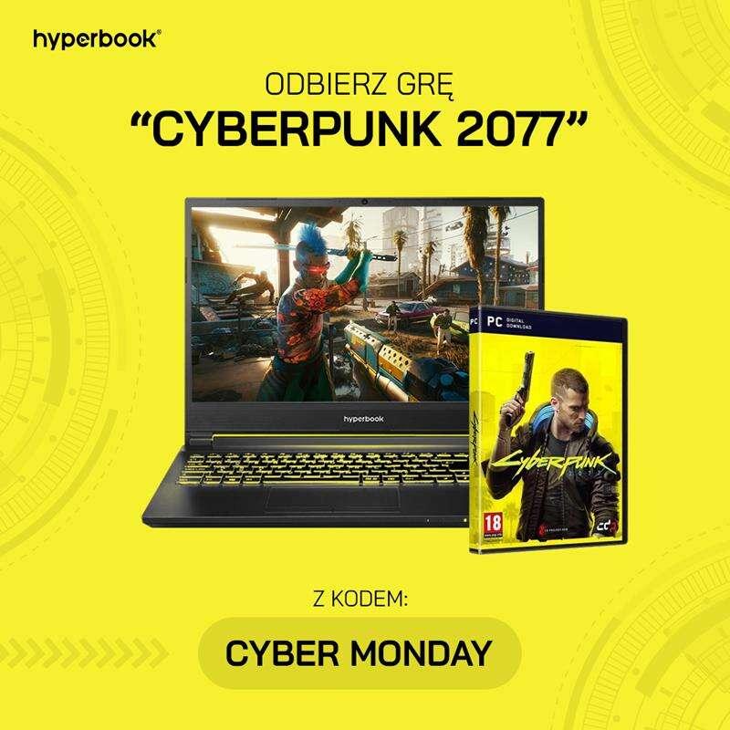 Darmowy Cyberpunk 2077 przy kupnie HyperBooka