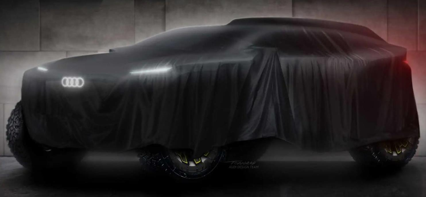 Elektryczne Audi na rajd Dakar 2022