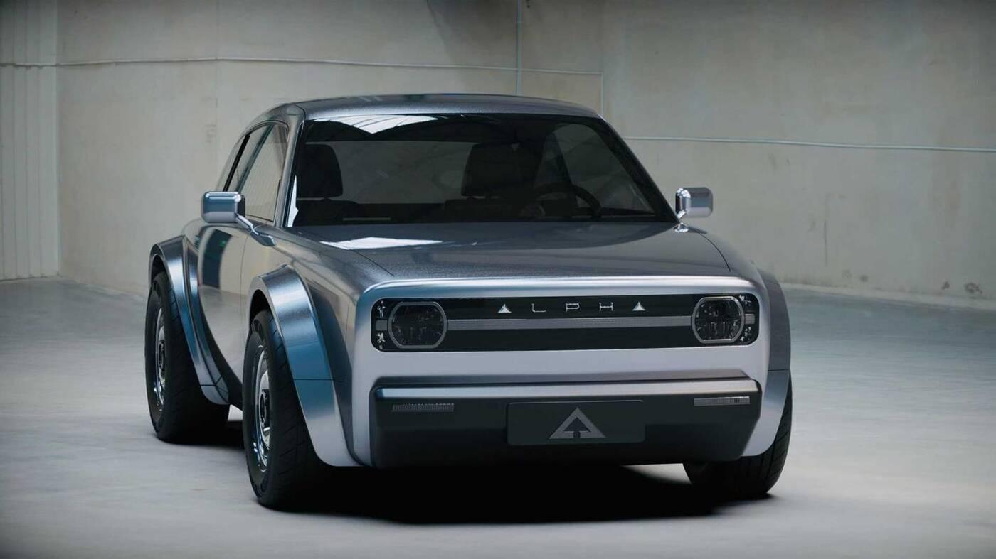 Elektryczne coupe Alpha ACE uderza w nuty retro