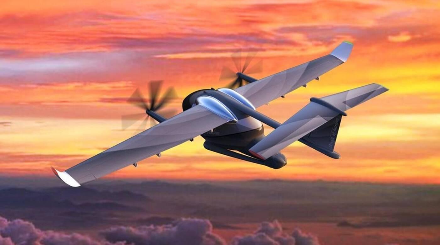 Elektryczne samoloty STOL dla VTOL niczym hybrydy dla BEV