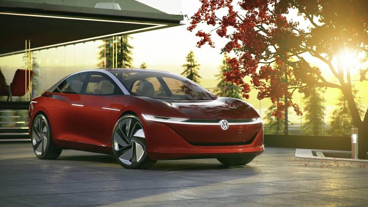 Elektryczny sedan Volkswagena, ID Vizzion Volkswagen