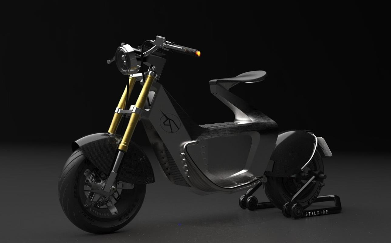 Elektryczny skuter SUS1 od Stilride zachwyca ramą
