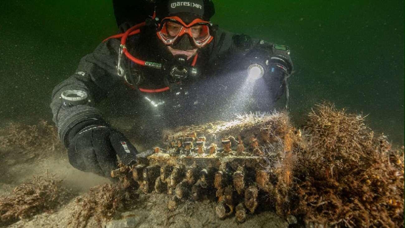 Enigma znaleziona na dnie Bałtyku. To słynna maszyna z II wojny światowej