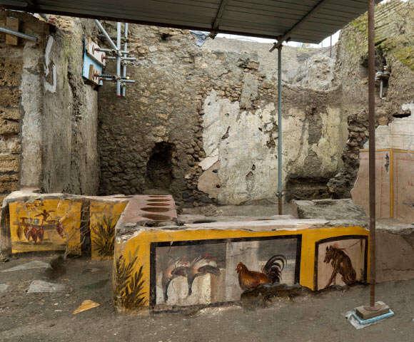 Starożytny fast food? Tak żywili się mieszkańcy Pompejów