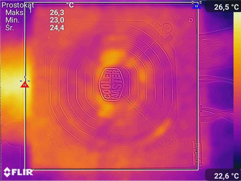 Test zasilacza Cooler Master MWE Gold 750 - V2