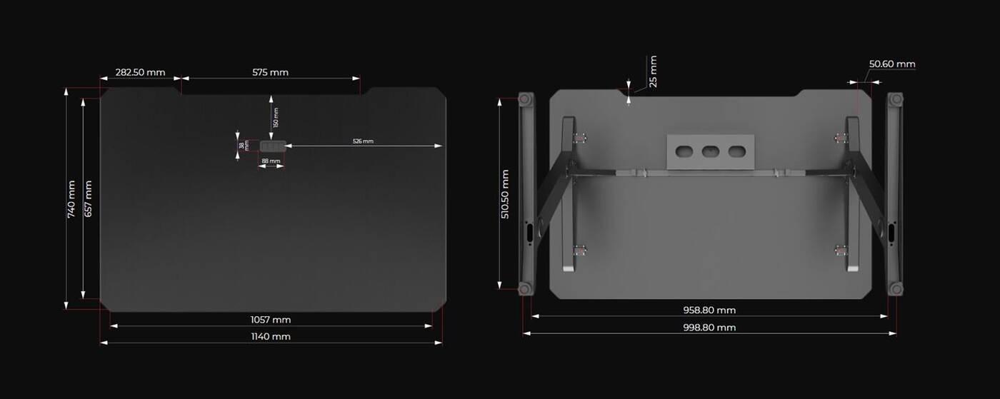 GD100 to gamingowe biurko SPC Gear