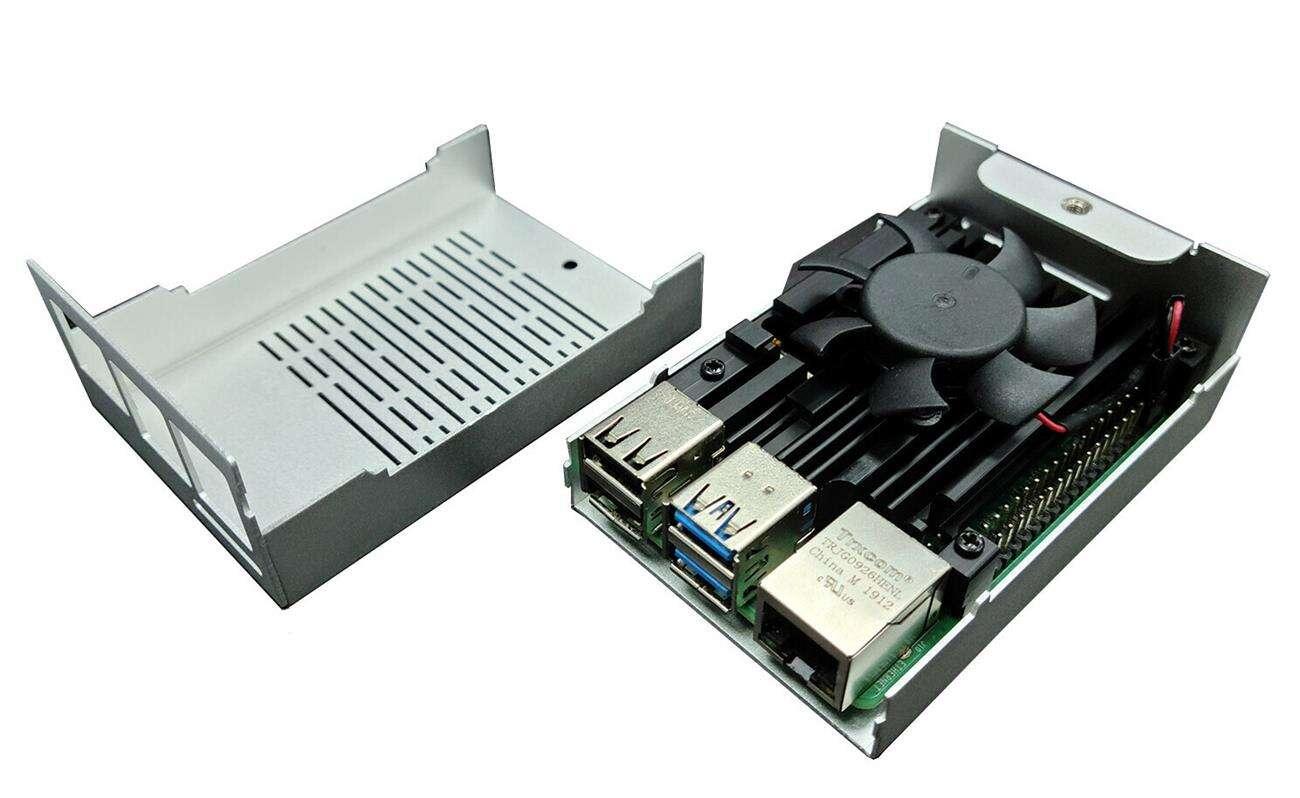 Gelid prezentuje Iceberry Cooling+Case dla Raspberry 4
