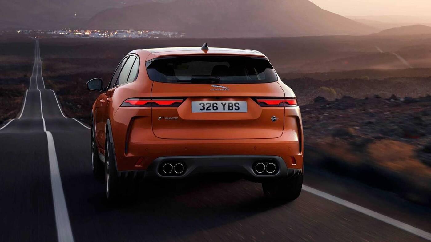 Jaguar F-Pace SVR 2021, premiera Jaguar F-Pace SVR 2021, F-Pace SVR 2021, premiera F-Pace SVR 2021