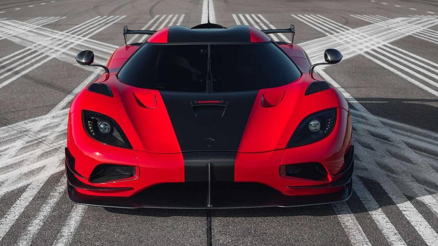 Jedyny taki hipersamochód Koenigsegg Agera RS Refinement