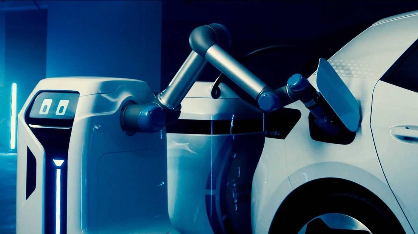 Ładujący robot Volkswagena, robot Volkswagena