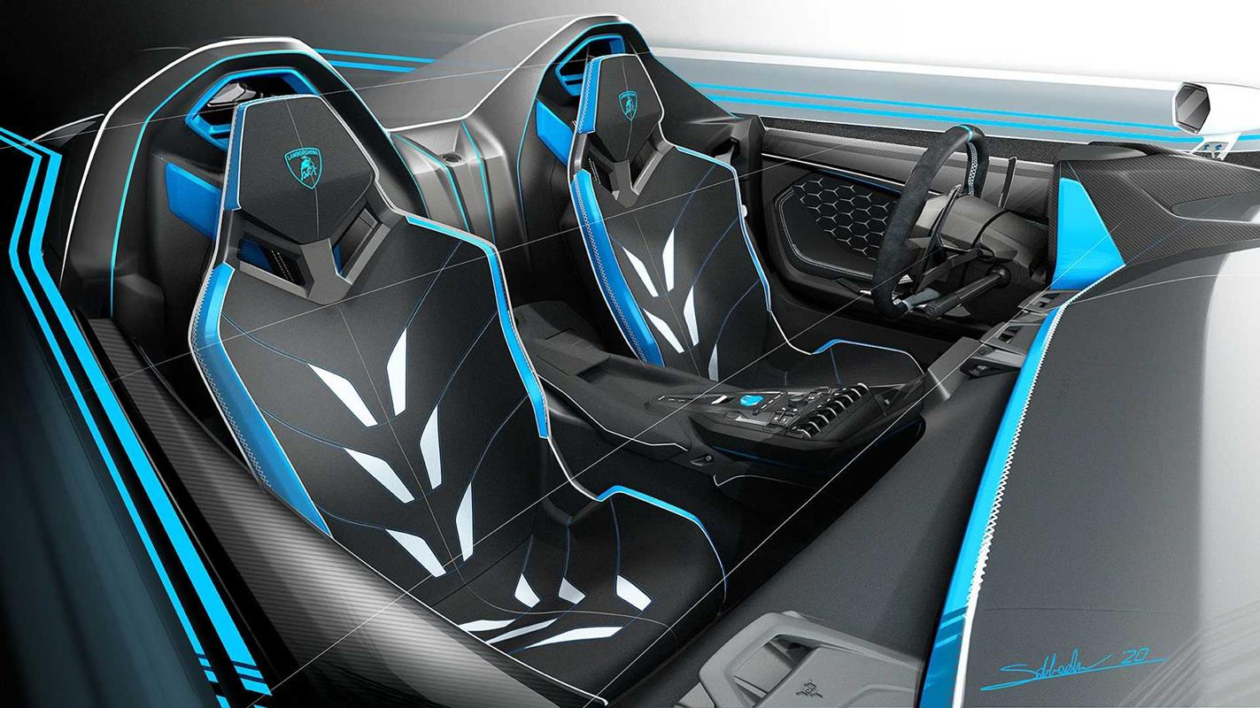Lamborghini SC20 czyli Aventador bez dachu na publiczne drogi