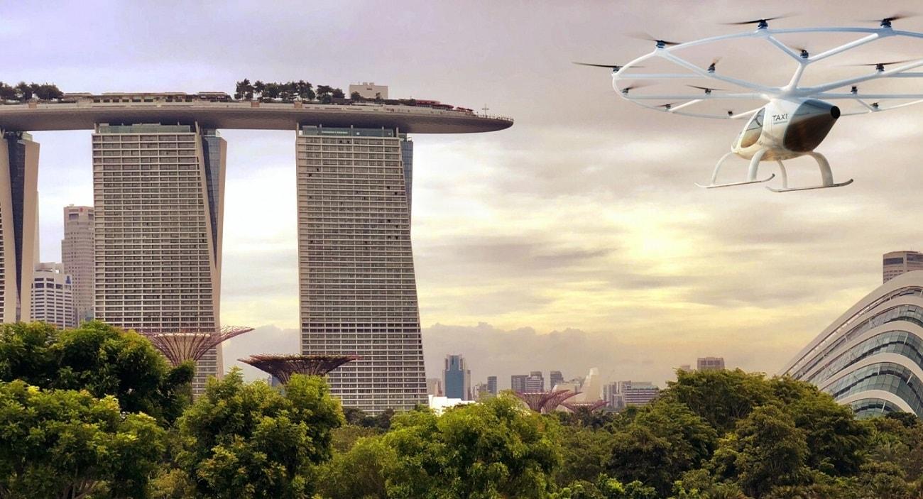 Latająca taksówka od Volocopter już wkrótce pojawi się na niebie