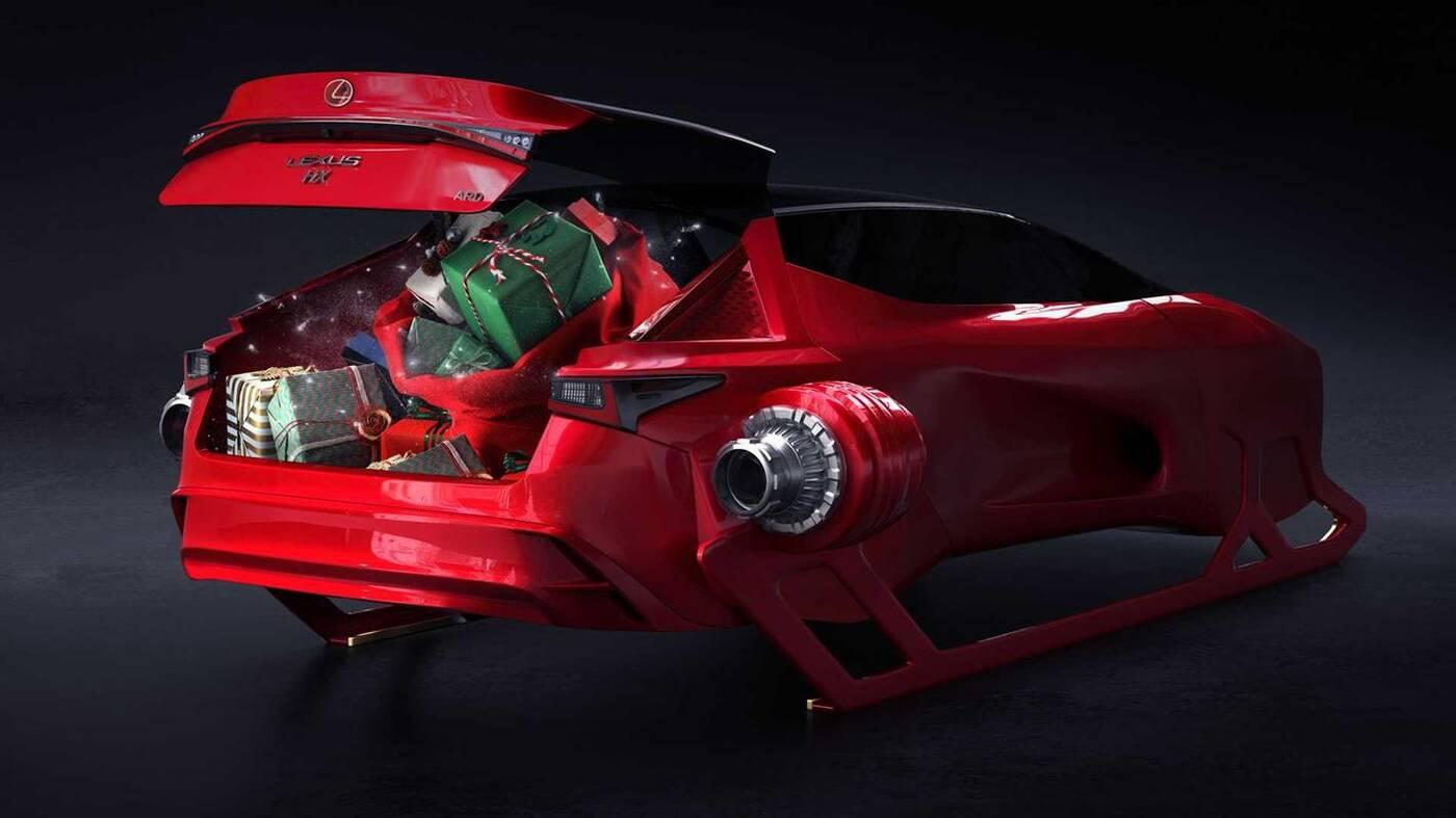 Lexus dla Mikołaja, HX Sleigh, HX Sleigh, koncept HX Sleigh