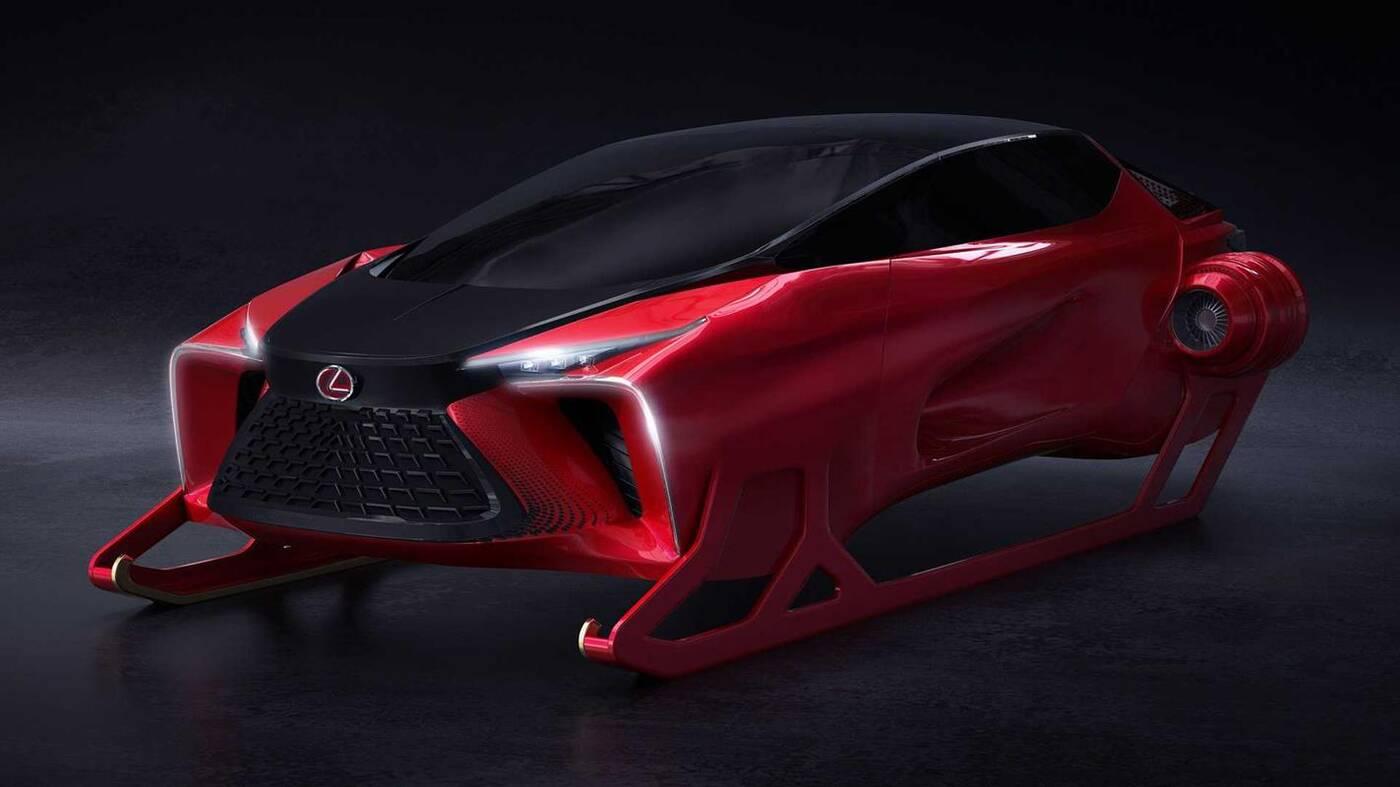 Lexus dla Mikołaja, czyli HX Sleigh