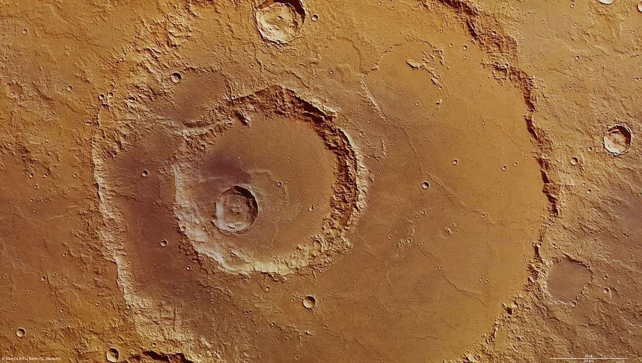 Trzęsienia ziemi na Marsie wcale nie przypominają naszych