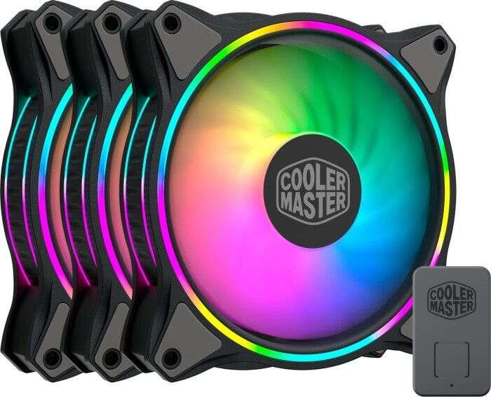 Cooler Master MasterFan MF120 Halo to nowy zestaw wentylatorów