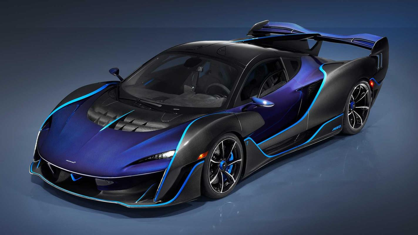 McLaren Sabre ujawniony, jako najmocniejszy McLaren