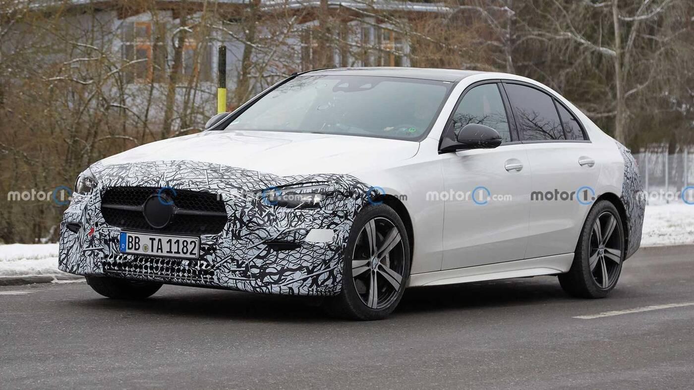 Nowa generacja Mercedesa Klasy C 2022 wyszpiegowana. Gdzie te zmiany?