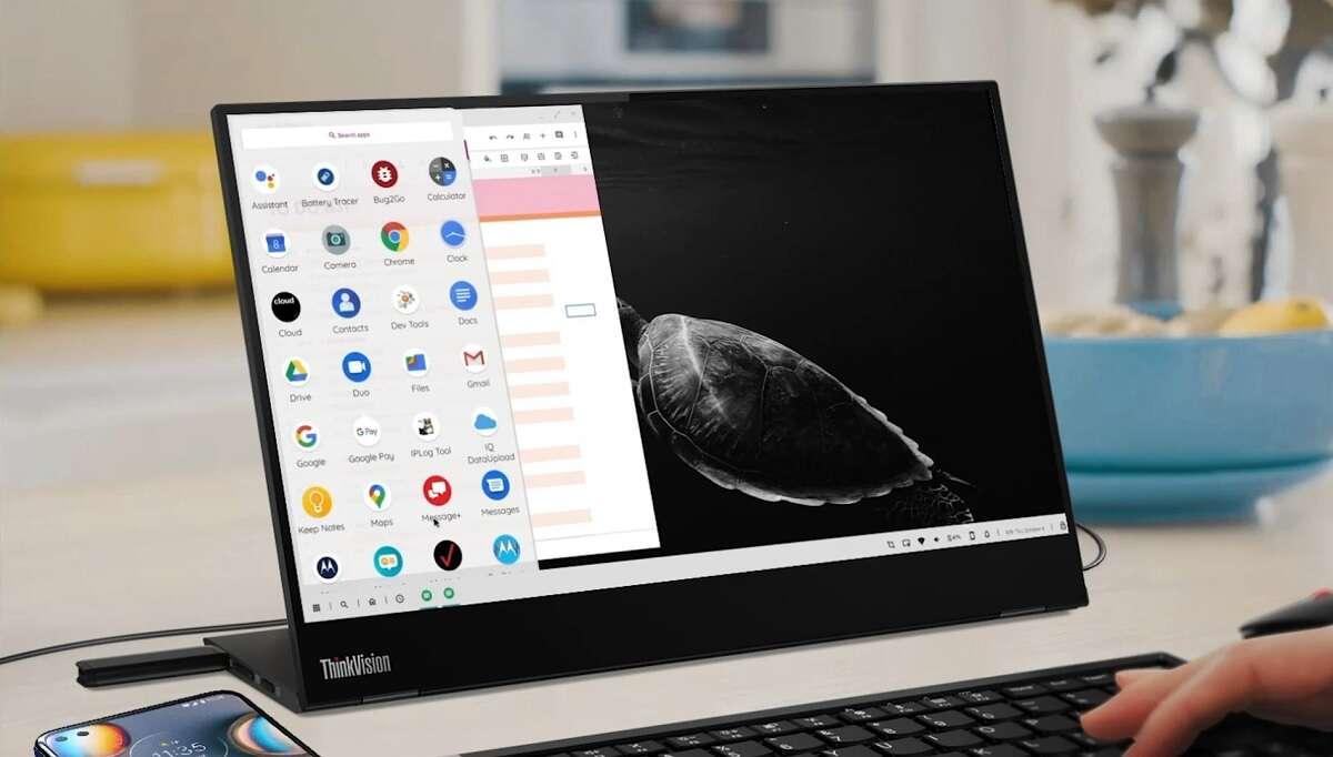 Motorola desktop Mode