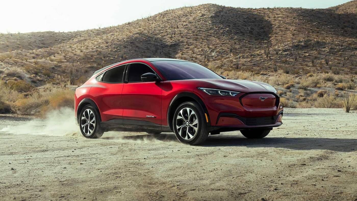 Początki elektrycznego Mustanga Mach-E Was zaskoczą