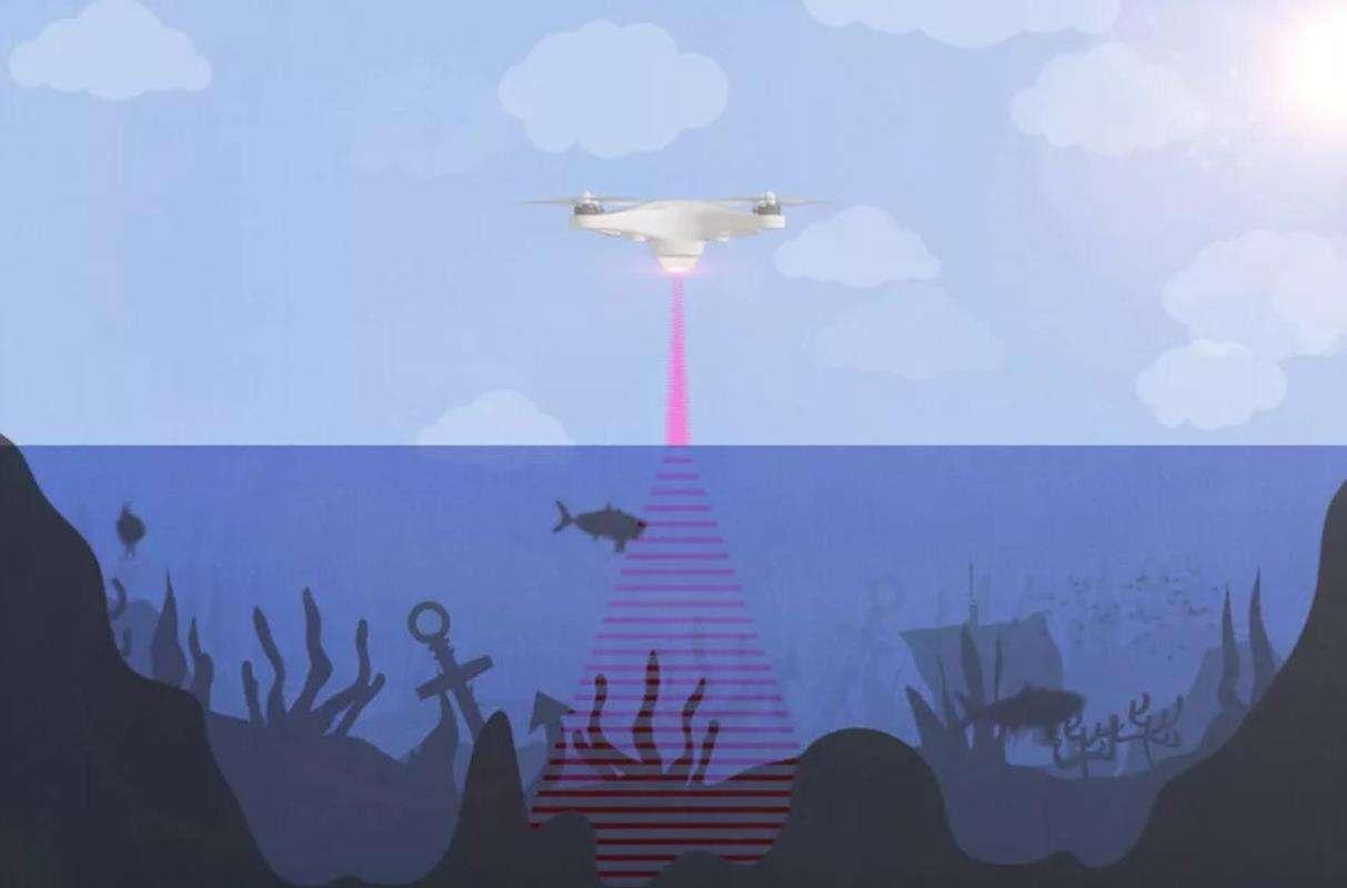 Naukowcy opracowali sonar działający ponad wodą