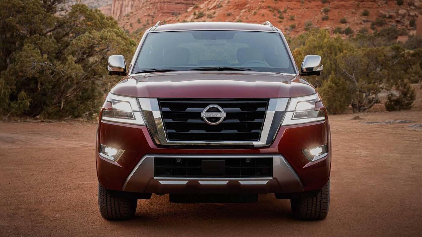 Nissan Armada 2021, czyli nowy wygląd i szereg ulepszeń