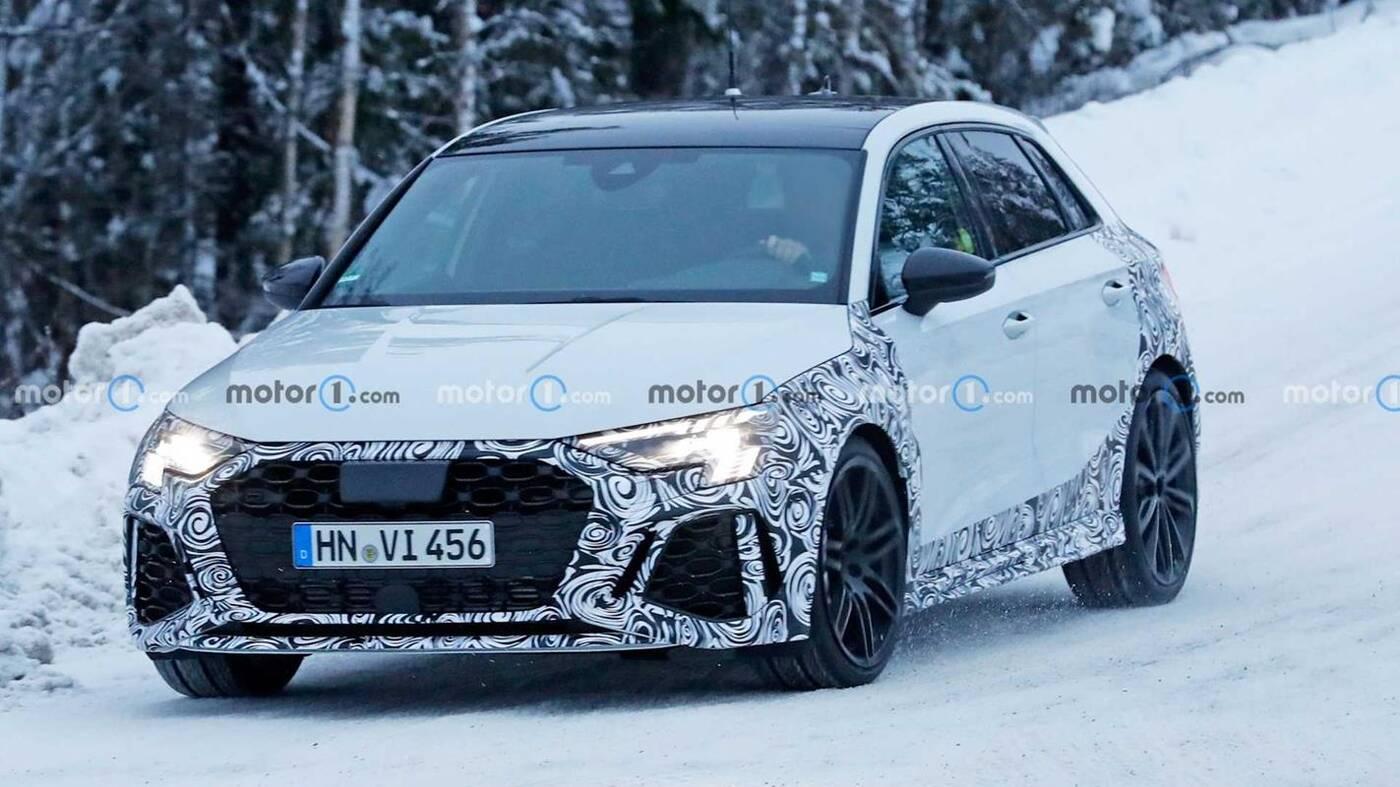 Audi RS3 , Nowe Audi RS3 Sportback wyszpiegowane, Nowe Audi RS3 Sportback, Audi RS3 Sportback wyszpiegowane, Audi RS3 Sportback 2021