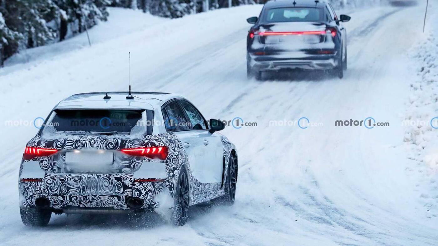 Nowe Audi RS3 Sportback wyszpiegowane, Nowe Audi RS3 Sportback, Audi RS3 Sportback wyszpiegowane, Audi RS3 Sportback 2021