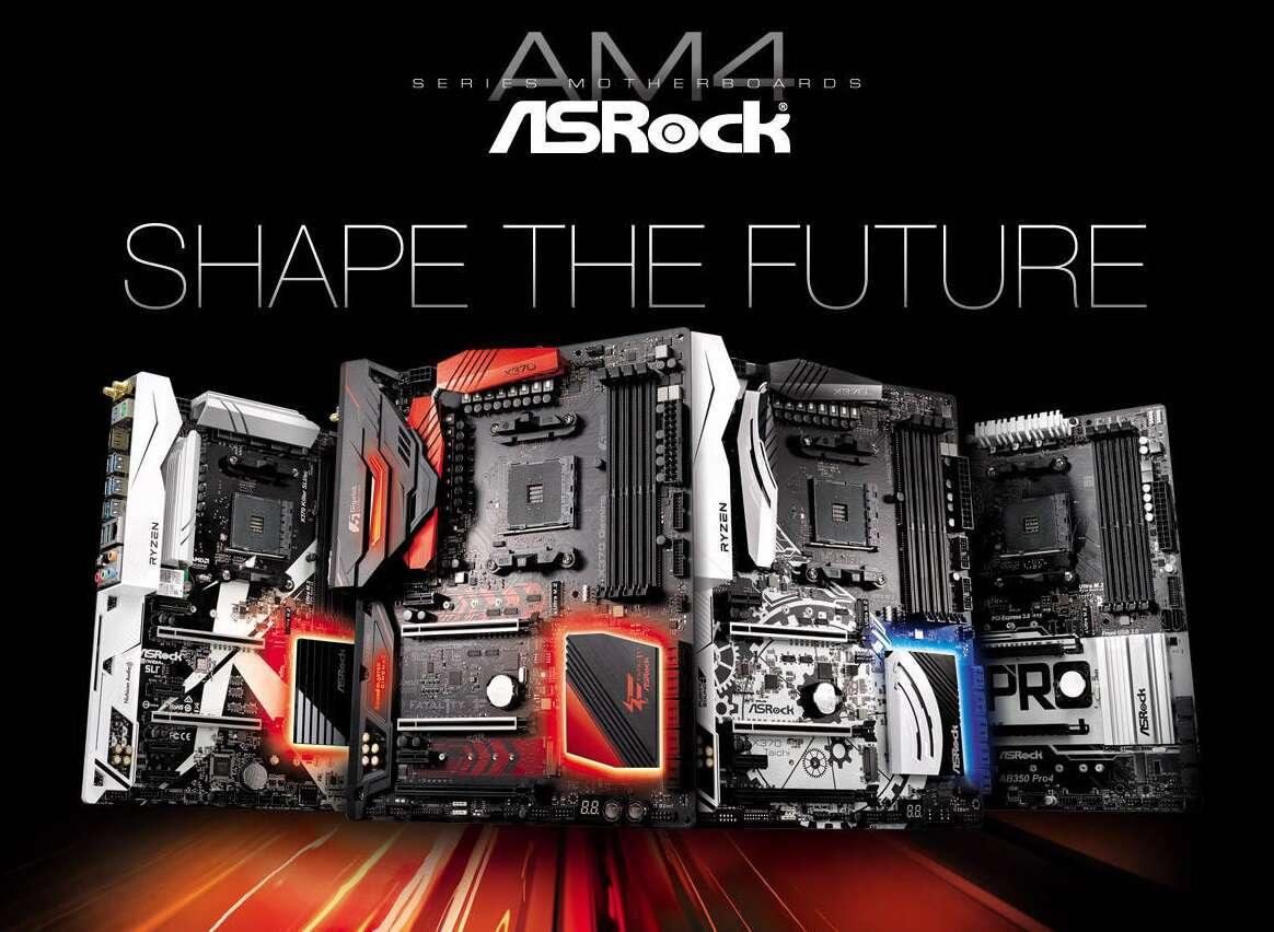 ASRock bios starsze płyty