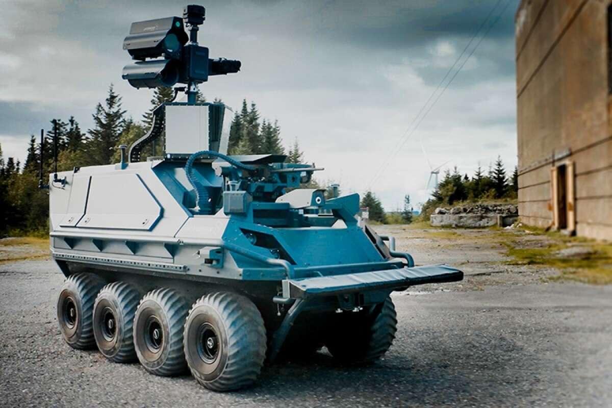Nowy opancerzony robot bojowy Rheinmetall