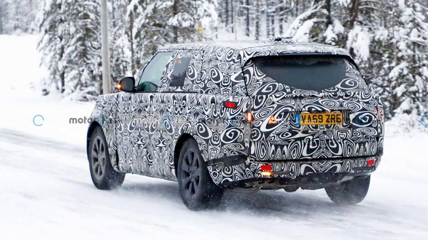 Nowy Range Rover 2022 wyszpiegowany w testach