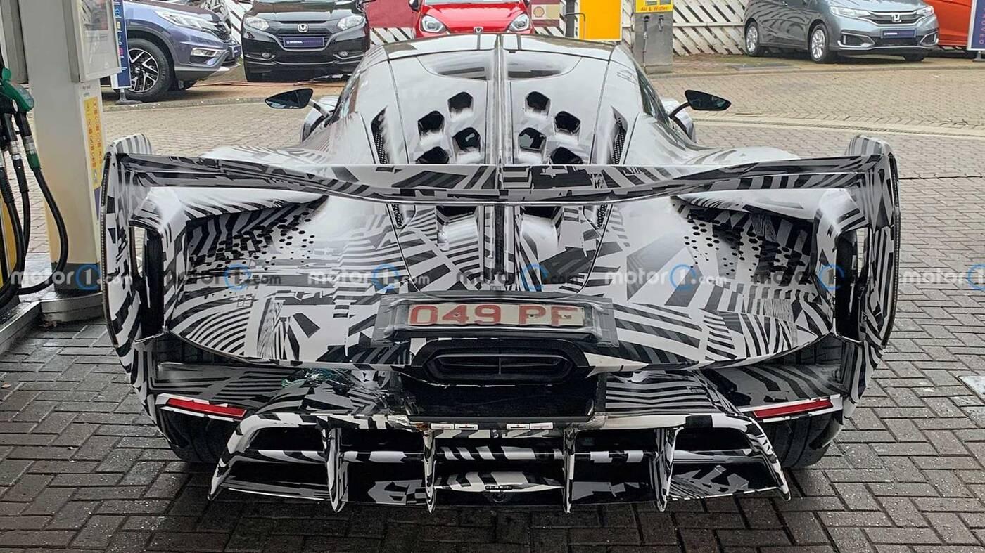 Obejrzyjcie zdjęcia prototypu McLaren Sabre