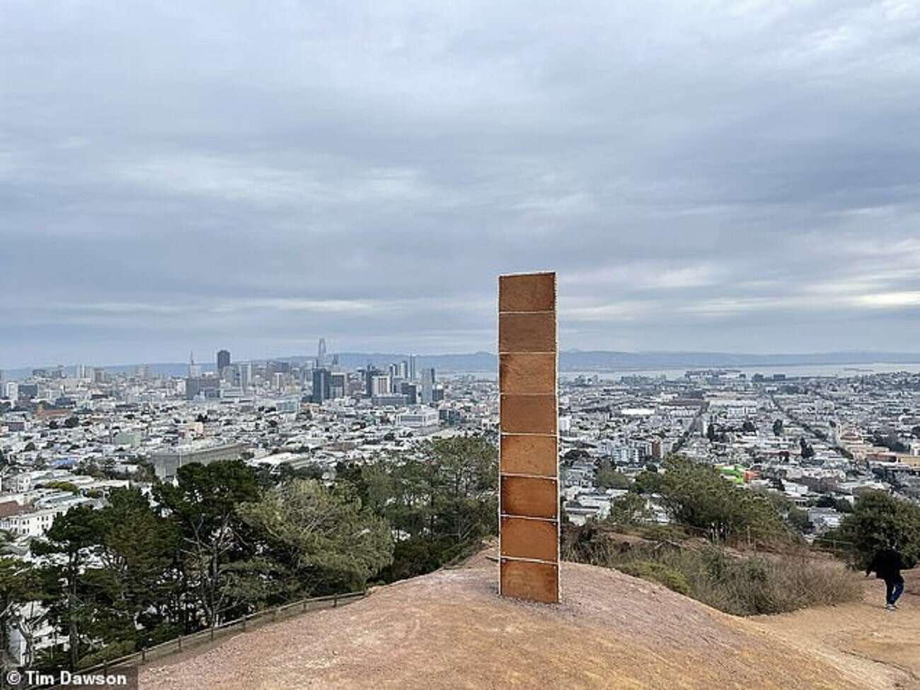 Piernikowy monolit z San Francisco jest naprawdę nietypowy