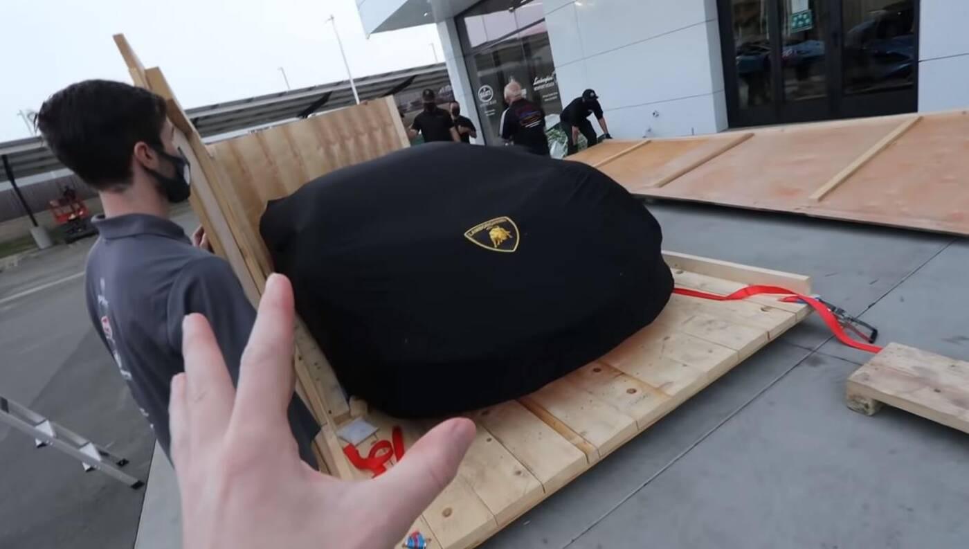 Pierwsze Lamborghini Sian w USA, Lamborghini Sian w USA,