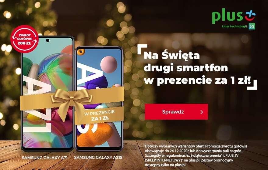 Święta z Plusem, a może... Plus na Święta?