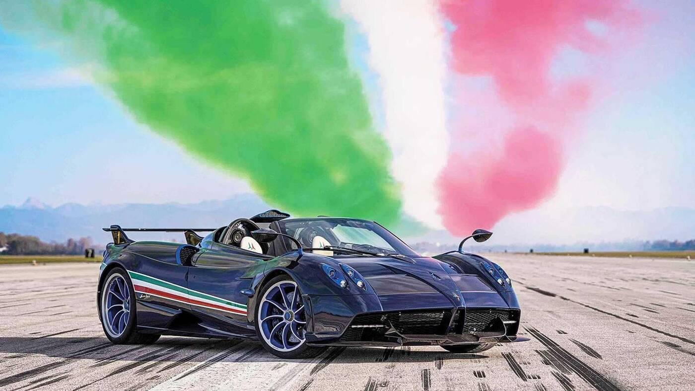 Premiera Huayra Tricolore, czyli najmocniejszego samochodu Pagani