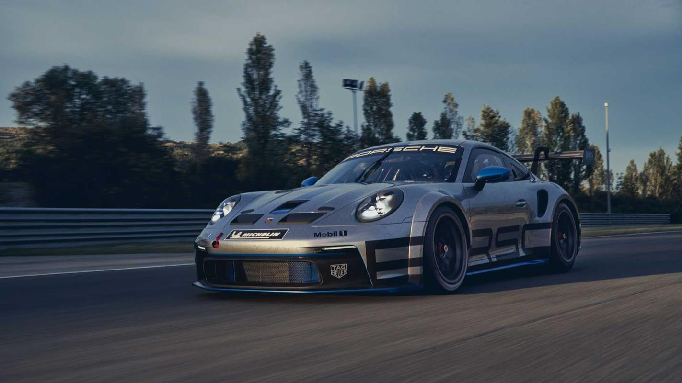 Premiera Porsche 911 GT3 Cup 2021
