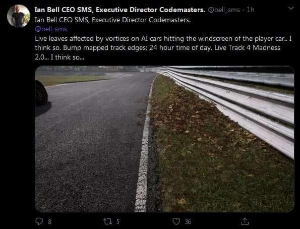 Project Cars 4 symulacją jakiej jeszcze nie było. Tylko czemu reklamują to liśćmi...