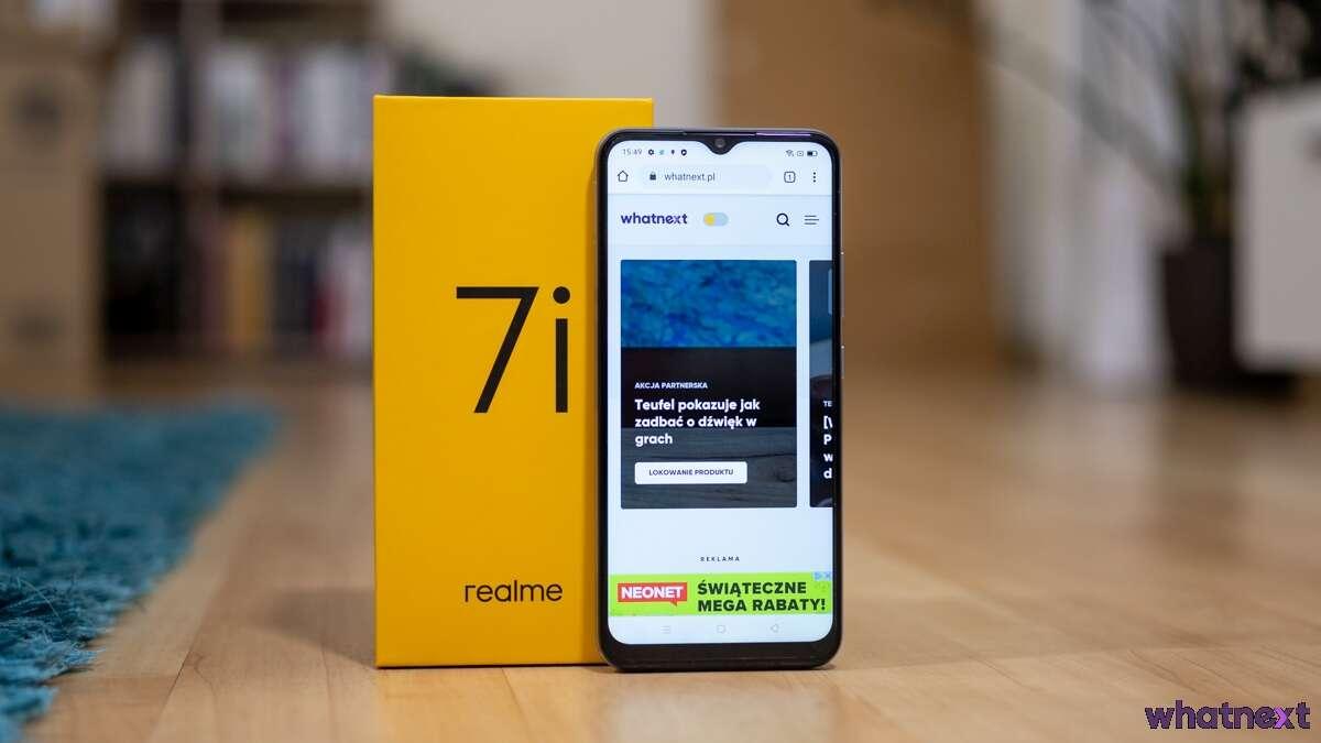 realme atakuje polski rynek smartfonem realme 7i i... kotem