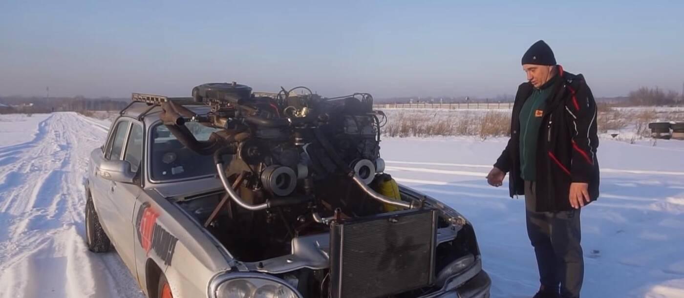 Rosyjskie V12, czyli trzy silniki w jednym samochodzie