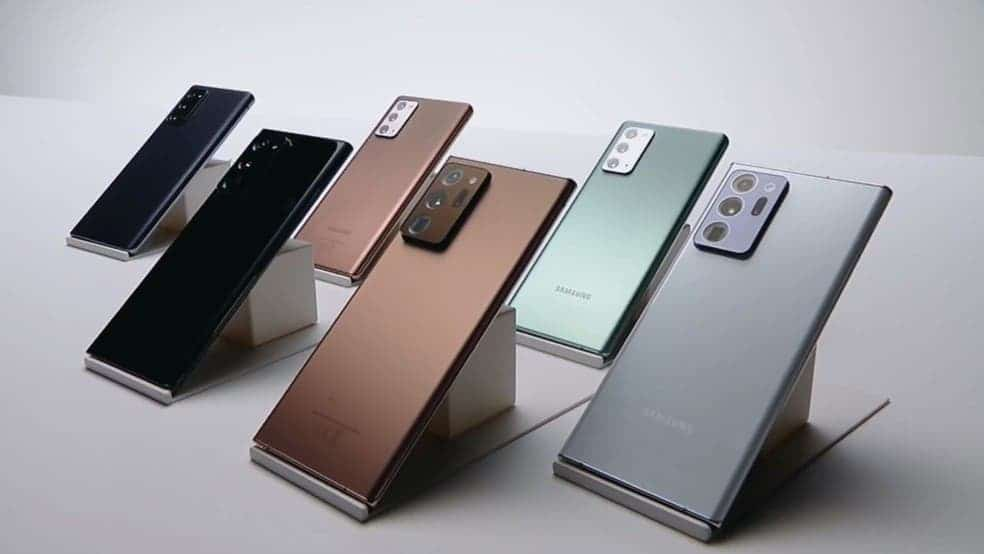 aktualizacja Samsung Galaxy Note 20