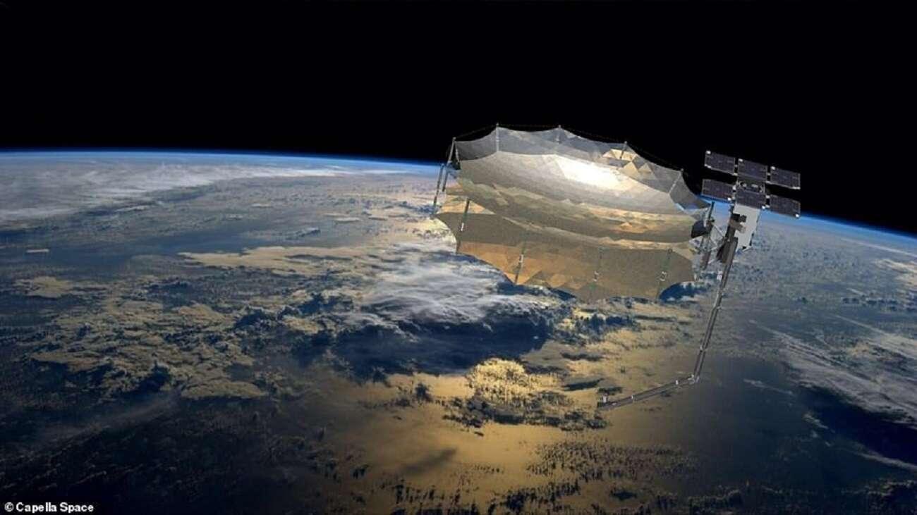 """Ten satelita szpiegowski może """"widzieć"""" nawet przez chmury i ściany budynków"""