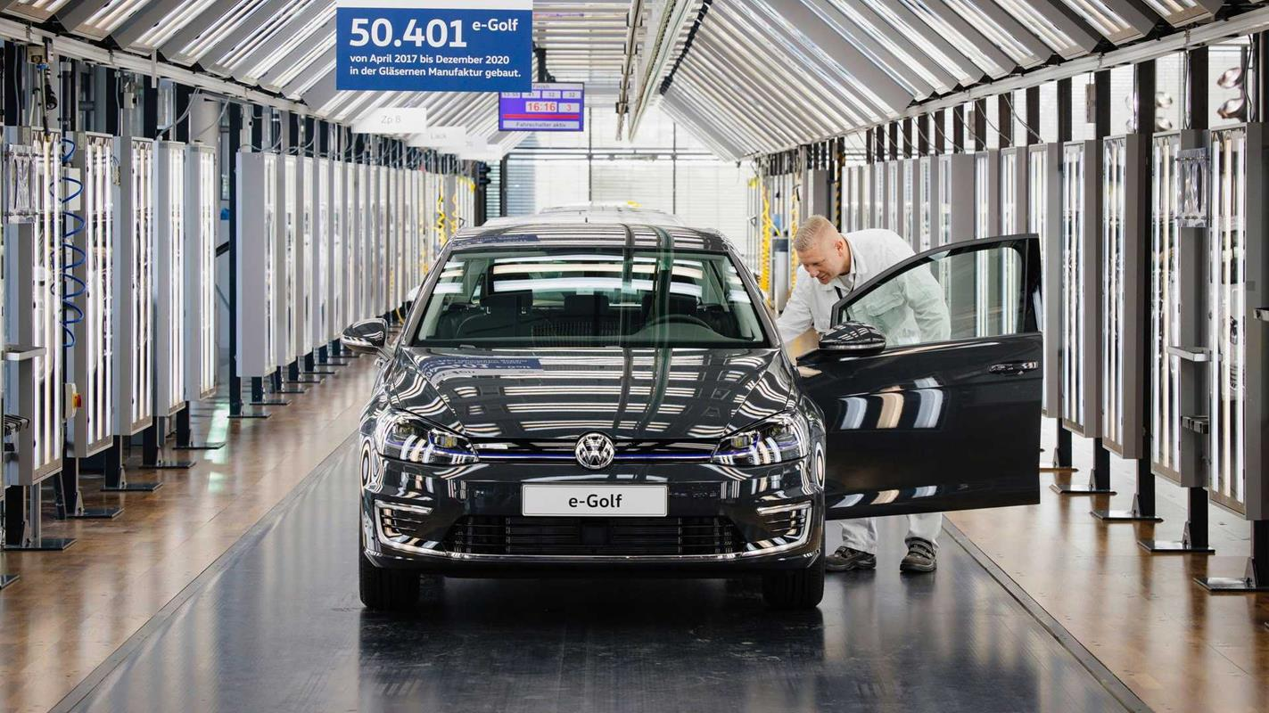 Smutna wiadomość o modelu Volkswagen E-Golf